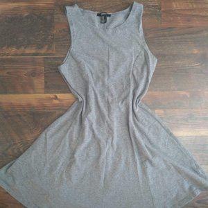 Basic Grey Skater Dress